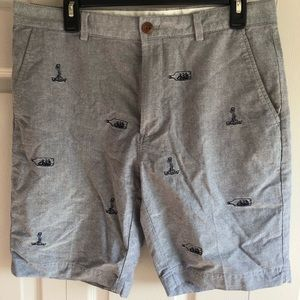 Brooks Brothers Red Fleece Shorts Size 33